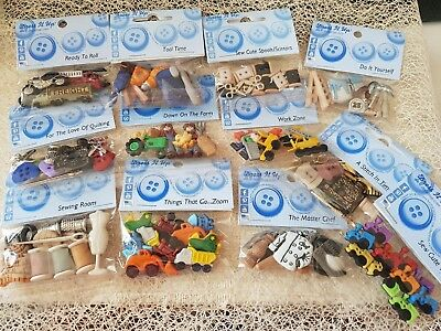 Dress It Up Button Packs - HOBBIES COOK SEW FARM TOOLS  -**See Multi Buy Offer**