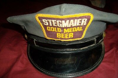 Stegmaier Beer Delivery Mans Hat Size 7 Wilkes-Barre Pa.