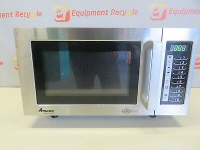 Amana Commercial Microwave Oven RMS10TS 1500W Phase 1 Digital Control