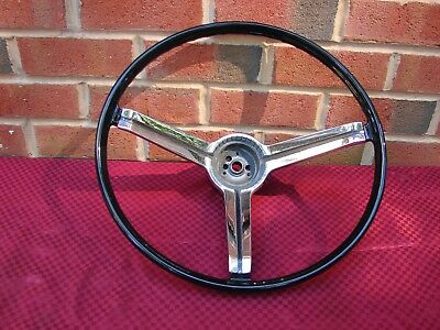67 Camaro Deluxe Reproduction Steering Wheel With Original Gm Chrome