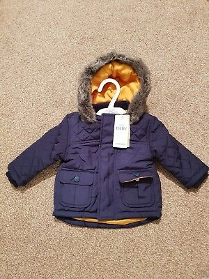 5d7135961b91 MARKS AND SPENCER Baby Boy Jacket Size 6-9 Months - £5.19