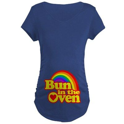 93fd76ecf MATERNITY BUN IN The Oven T shirt Funny Pregnancy Announcement Tee ...