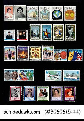 Barbados - Mini Lot Of Stamps All Sets - 27V - Mint Nh