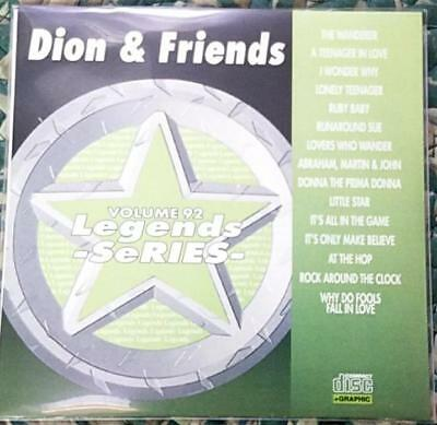 Legends Karaoke Cdg Dion & Friends #92 Oldies Rock 15 Songs Cd+G Wanderer