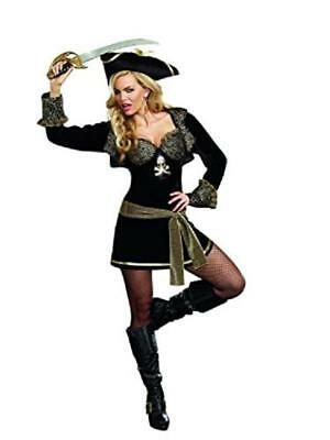 New DREAMGIRL ROCK THE SHIP SEXY PIRATE HALLOWEEN COSTUME M MD