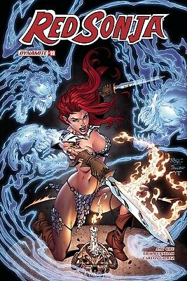 Red Sonja #19 Cvr E Royle Exc Subscription Var - 8/1/18