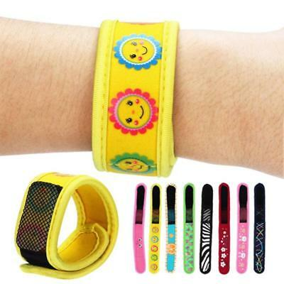 Anti Mosquito Bug Insect Repellent Bracelet Wrist Band 2 Repellent Refills