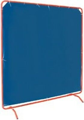 Draper 08170 W678 WELDING CURTAIN WITH FRAME