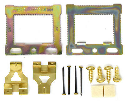 Canvas Floater Box Frame Picture Hanging Kit Cwh Hangers Screws Pins Hooks Cwh1