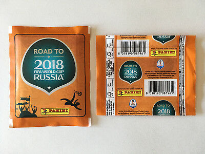 Pochette Panini Road To World Cup 2018 Russia Horizontal Packet Bustina No Price