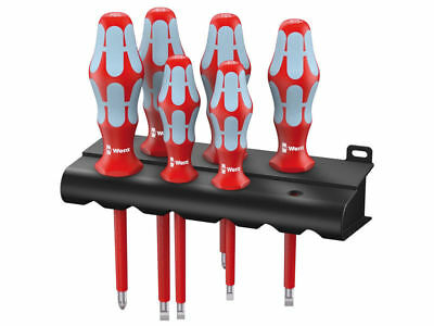 Wera Tools Germany Kraftform Plus VDE 1000v Stainless Steel Screwdriver Set
