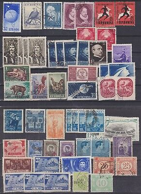 146) Romania  1948 / 1965    Used Selection   - Perfect !!