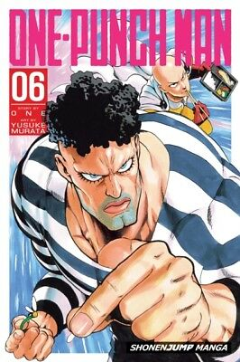One-Punch Man Volume 6 (Paperback), ONE, 9781421585277