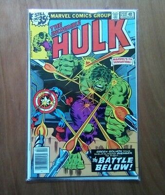 INCREDIBLE HULK VOL.1 #232 MARVEL COMICS FEB. 1979 1st PRINT CENTS COPY V/FINE