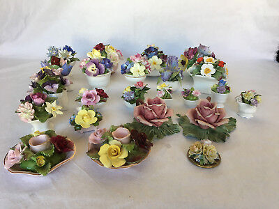 Collection 23 Barbotines Anglaises Coalport Crown Staffordshire Aynsley  C1030