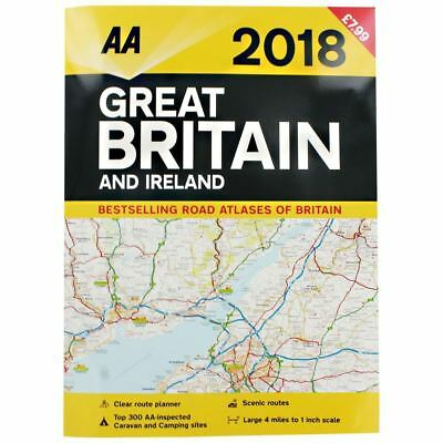 AA 2018 Great Britain and Ireland Road Atlas