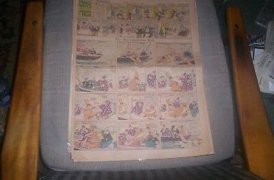 Katzenjammer Kids Lot of 9 Sunday Full Pages 1929-41 KNERR,