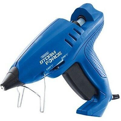 230v Glue Gun Vari-heat 400w - Draper Variable Heat Sticks Storm Force Six