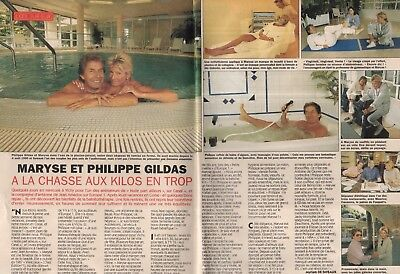 Coupure de presse Clipping 1993 Maryse & Philippe Gildas   (2 pages)