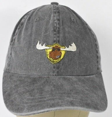 798f097db Gray Moose McGillycuddy s Lahaina Embroidered Baseball Hat Cap Adjustable  Strap