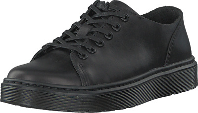Black Dr Martens Dante Brando Leather Shoes New With Box Free Postage