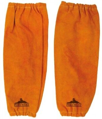Portwest SW20TAR One Pair Of Leather Welding Sleeves