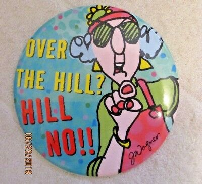 Large OVER THE HILL? HILL NO! MAXINE BUTTON BY HALLMARK!  Cute!