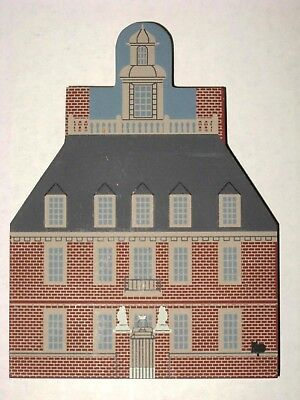 Cat's Meow Williamsburg Governor's Palace 1993 Virginia Colonial House Cats Meow