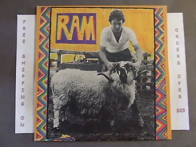 PAUL LINDA McCARTNEY RAM 1971 APPLE ISSUE LP SMAS 3375
