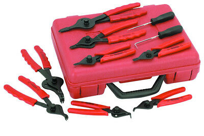 New Snap Ring Plier Set 11pc Mechanic PRO Circlips w/Case Car Truck Motorcycle