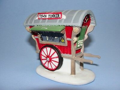 Dept 56 New England Village - Town Tinker 56464 Single Cart No Pans Exc