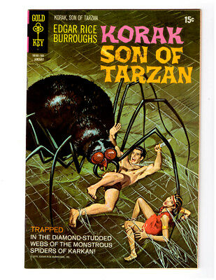 KORAK, Son of Tarzan #39 in VF/NM  a Gold Key Comics 1971 Edgar Rice Burroughs