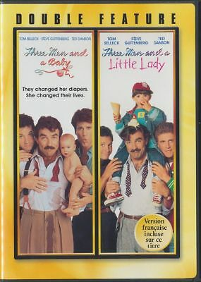Three Men and a Baby/Three Men and a Little Lady (DVD, 2008, Canadian)
