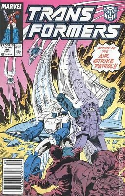 Transformers (Marvel) 1st Printing #56 1989 VF Stock Image
