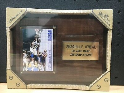 Shaquille O'neal Orlando Magic The Shaq Attack Old Collection Americana - New