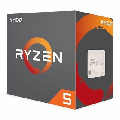 AMD 2600x Ryzen 5 Processor 16 MB Cache 3.6 GHz AM4 6 Core 12 Thread Desktop CPU