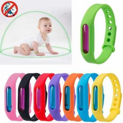 Summer Camp Anti Mosquito Pest Insect Bug Repeller Repellent Wrist Band Bracelet