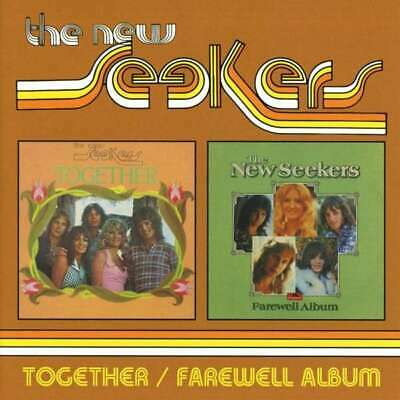 New Seekers - Together / Farewell Album 2cd NEW CD