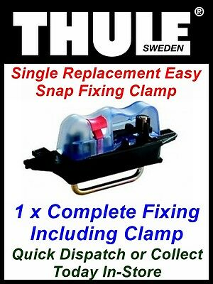 1 X Replacement Thule Easy Snap Roof Box U- Clamp Fits Halfords Exodus Boxes