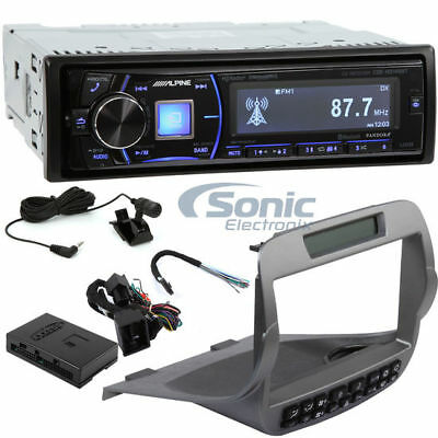 Alpine CDE-HD149BT Car Stereo + Metra 99-3010S for 2010-2015 Chevrolet Package