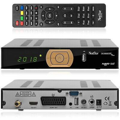 Next YE-18000 HD Plus Full HD Sat Receiver vorprogrammiert ASTRA,HOTBIRD,TÜRKSAT