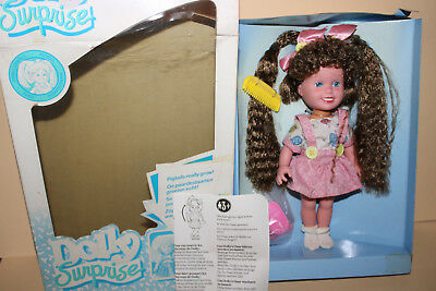 Hasbro 161385 Dolly Suprise  Puppe  Buttons Doly  OVP 1989 Unbespielt Vintage