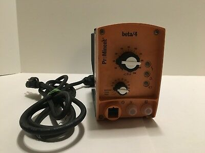 Prominent Beta/4 Solenoid Metering Dosing Pump Tested Bt4A