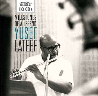 Lateef Yusef - Milestones Of A Legend NEW CD