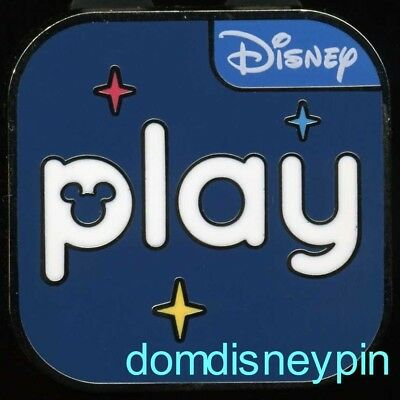 Disney Pin WDW *Play* Cast Member Parks App Launch Exclusive  (6/30/2018)!