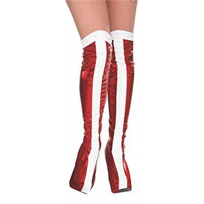 Rubie's Official Wonder Woman Boot Tops, Adults Costume