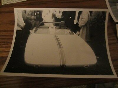 vintage photo Ford Mustang Concept 1 Watkins Glen  7  x 5 inches