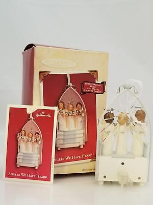 Hallmark Magic Ornament 2003 Angels We Have Heard - Singing Angel Choir #7527-DB