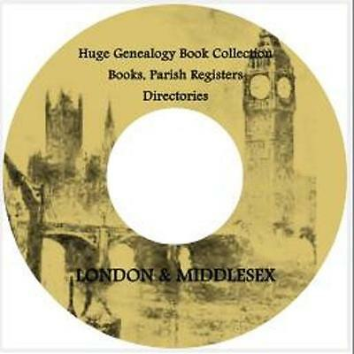 London & Middlesex Books Genealogy Local History Topography Registers Guide