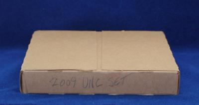 2009-D,P UNITED STATES MINT UNCIRCULATED 18 COIN SETS in SEALED BOX...c